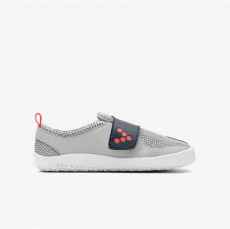 Vivobarefoot Primus Kids Gray Navy Orange