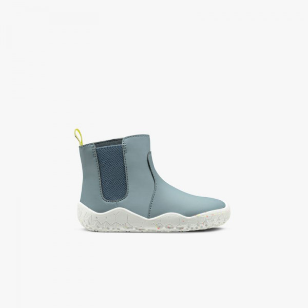 Vivobarefoot Fulham Rubber Kids Atlantic Blue