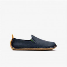 Vivobarefoot Ababa Leather Kids Navy