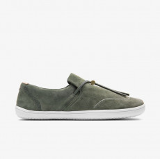 Vivobarefoot RA Slip ON Ladies Olive Leather