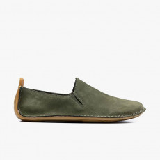 Vivobarefoot Ababa Leather Mens Botanical Green