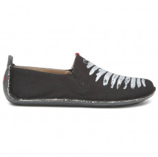 Vivobarefoot Ababa Canvas Birdie Ladies Black