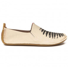 Vivobarefoot Ababa Canvas Birdie Natural Ladies
