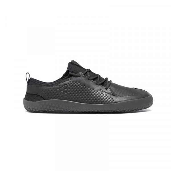 Vivobarefoot Primus Black Junior Leather