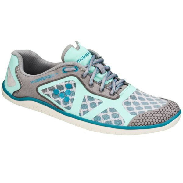 Vivobarefoot SS13 One Lady Grey Teal
